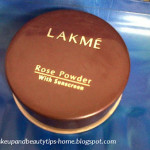 Lakme Rose Powder With Sunscreen Review