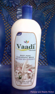 Vaadi Herbals Deep Pore Cleansing Milk Review