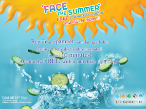 Summer Facial Detox from The Nature's Co