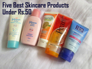 Five Best Skincare Products Under Rs.50