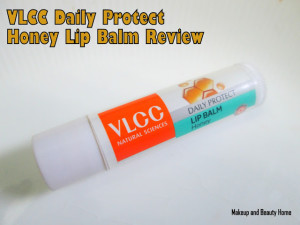 VLCC Daily Protect Honey Lip Balm Review