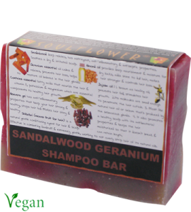 Soulflower Sandalwood Geranium Shampoo Bar Review