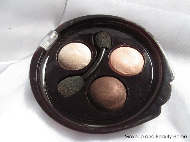 Deborah Milano Hi-Tech Trio Eyeshadow in Shade No.9 Peach Passion Review, Swatches & EOTD