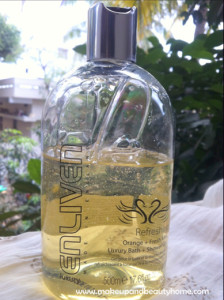 Enliven Refreshing Orange and Fresh Mint Shower Gel Review