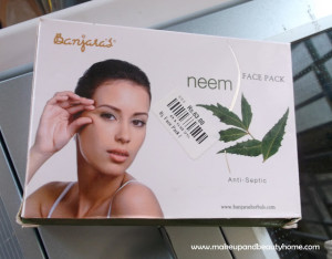 Banjara's Herbals Neem Face Pack Review