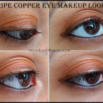 Triple Copper Eye Makeup Tutorial – EOTD