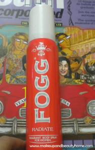 Fogg Radiate Fragrant Body Spray for Women Review