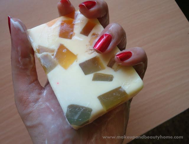 Khadi Mix Fruit Handmade Herbal Soap Review