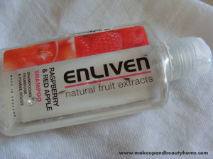 Enliven Raspberry and Red Apple Shampoo Review