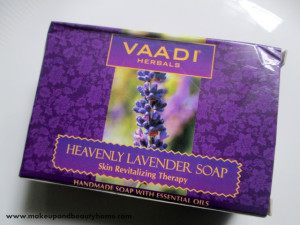 Vaadi Herbals Heavenly Lavender Handmade Soap Review
