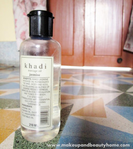 Khadi Jasmine Massage Oil Review
