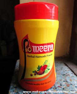 Meera Herbal Hair Wash Powder Review