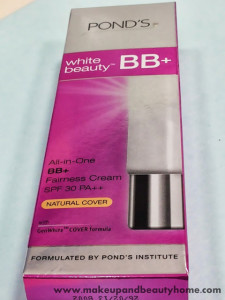 Pond's White Beauty BB+ Fairness Cream With SPF 30 PA++ Review
