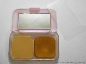 Maybelline Clear Glow All In One Fairness Compact Powder 02 Nude Beige Review, Swatches and Photos