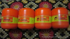Nature's Essence Magic Papaya Facial Kit Review, Swatches and Photos