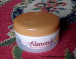 Ayur Herbals Almond Nourishing Cream Review