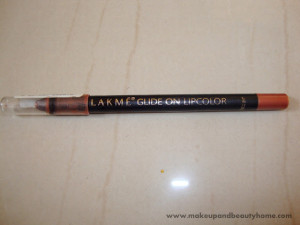 Lakme Glide On Lip Color Bronze Glitter Review and Swatch
