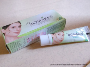Nomarks Cream for Oily Skin Prone to Pimples Review
