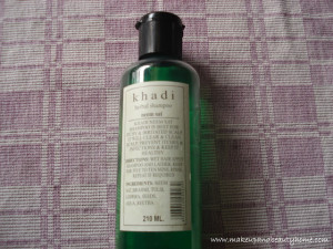Khadi Herbal Neem Sat Shampoo Review
