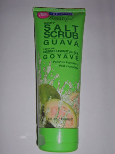 Freeman Beautiful Body Salt Scrub Guava Review and Swatch