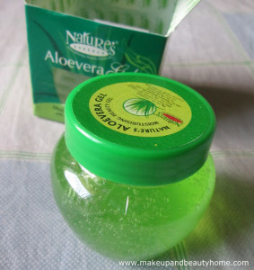 Nature's Essence Aloe Vera Gel Review and Photos