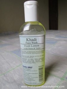 Khadi Fresh Lemon Face Wash With Neem and Tulsi Review