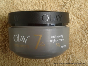 Olay Total Effects Anti Aging Night Cream Review