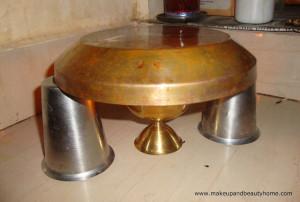 My Homemade Black Kajal – Preparation Steps and Photos