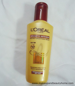 L'Oreal Paris Smooth Intense Instant Smoothing Serum Review
