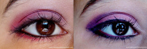 Pink Smokey Eyes 2 in 1 Tutorial ~ Steps and Photos