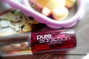 Diana of London Pure Addiction Lipstick Pink Harmony Review and LOTD