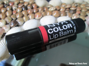 NYX Color Lip Balm Grazie – Pink or Red Toned? {Beauty Query}