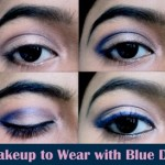 Eye Makeup to Wear With Blue Outfit ~ Photo Tutorial