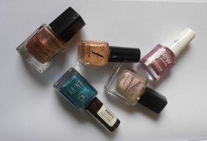 5 Glam Evening Wear Nail Polish Photos and NOTD