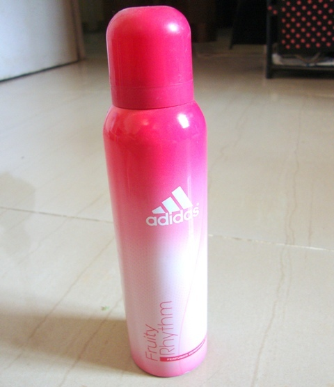 Adidas+Perfume+Deodorant+Fruity+Rhythm+Review