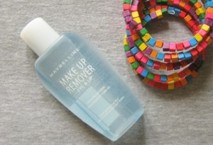Maybelline Make Up Remover Eye and Lip Review : Before and After Photos
