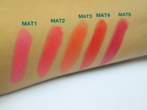 Maybelline-Matte-Lipsticks-Swatches