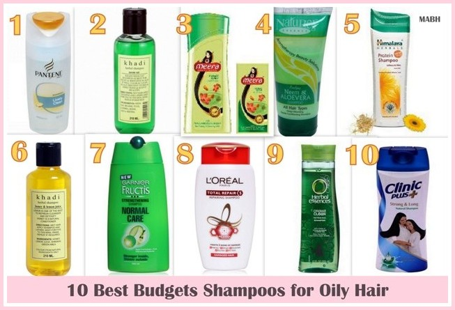 10 Best Budget Shampoos For Oily Hair Available In India