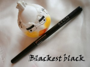 Avon Glimmersticks Blackest Black Eyeliner Review, Swatch and FOTD