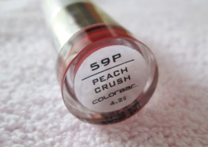 Colorbar Velvet Matte Lipstick Peach Crush Review