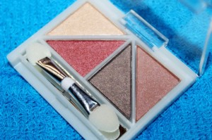 ELF Brightening Eye Color Luxe Quad Review and Swatches