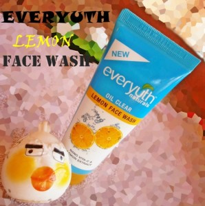 Everyuth Naturals Oil Clear Lemon Face Wash Review