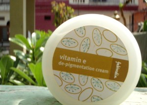 Fabindia Vitamin E De Pigmentation Cream Review