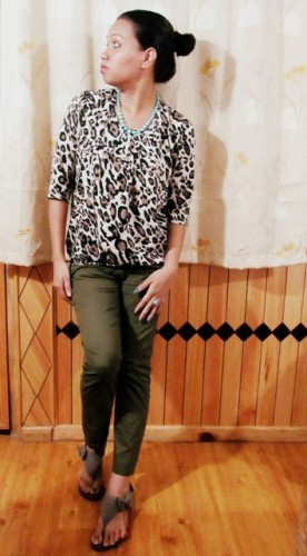 Leopard-Print-Top-with-Olive-Green-Pants -OOTD-3