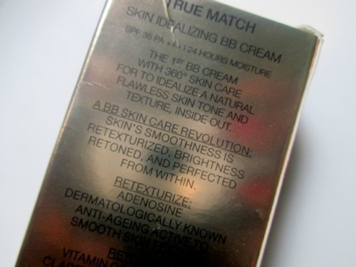 Loreal-True-Match-BB-Cream-Ingredients