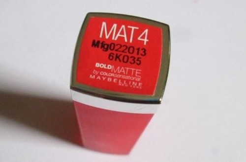 Maybelline-Mat-4-Lipstick-Review