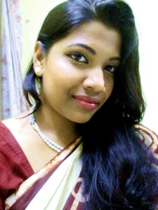 My Simple Traditional Makeup Look with Saree – FOTD