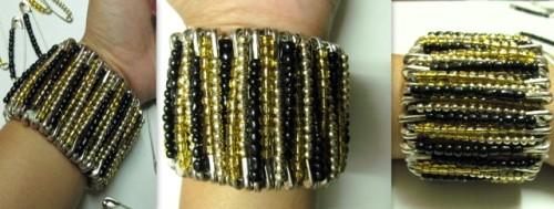 Statement-Bracelet-from-Safety-Pins-DIY