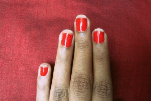 Watermelon-Nail-Art-Step-3