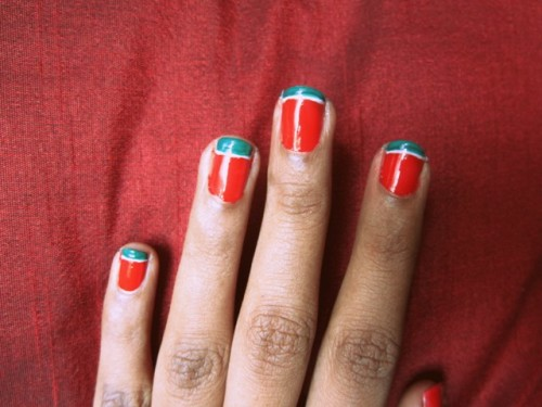 Watermelon-Nail-Art-Step-5